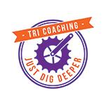 Just Dig Deeper Tri Coaching logo