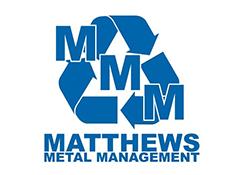 sponsor logo matthews metal management