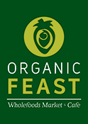sponsor logo organic feast