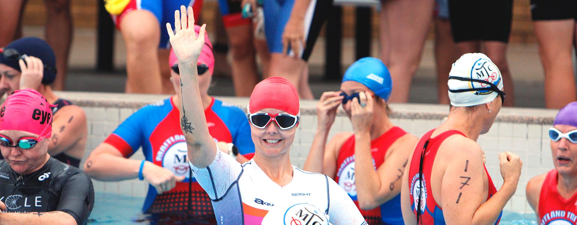 race information women swim