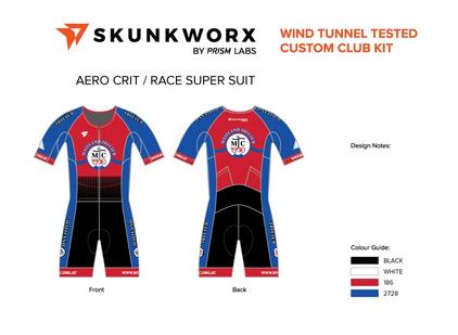 prism skunkworks trisuit widget womens