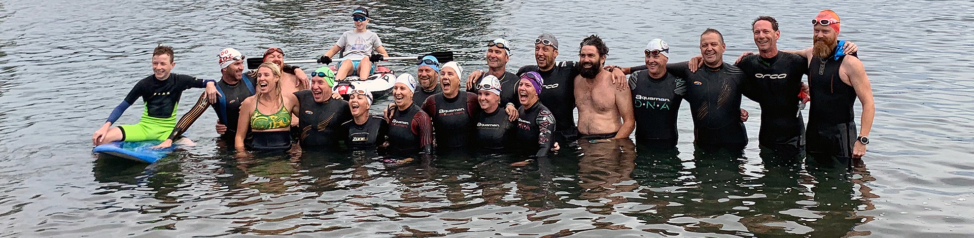 covid safety group photo ironman 2019 safety